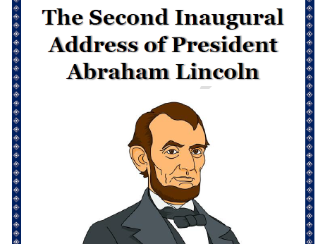 an analysis of abraham lincolns second inaugural address Basically, just what the question states: what are examples on ethos in abraham lincoln's second inaugural address thank you (.