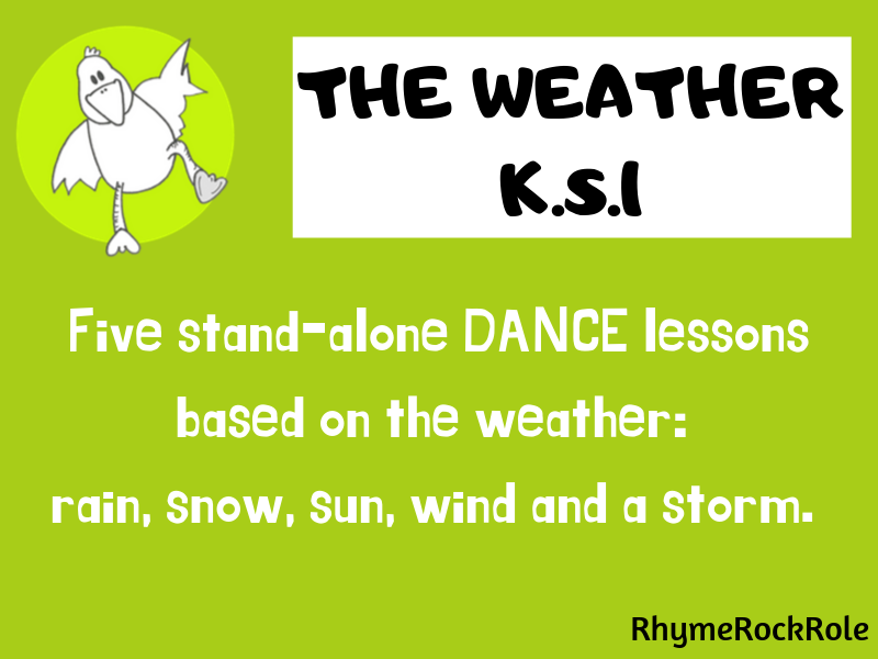 Weather Dance - 5 dance lessons, K.S.1