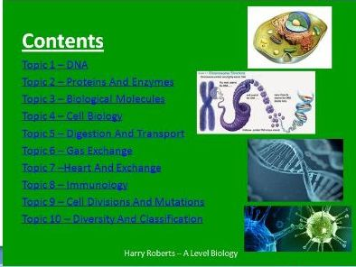 AQA AS Biology Revision PowerPoint(New Specification 7401)