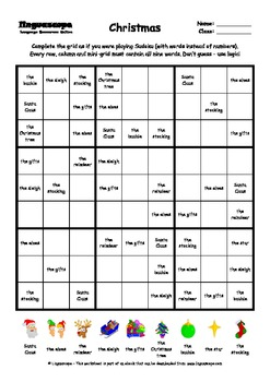 word sudoku