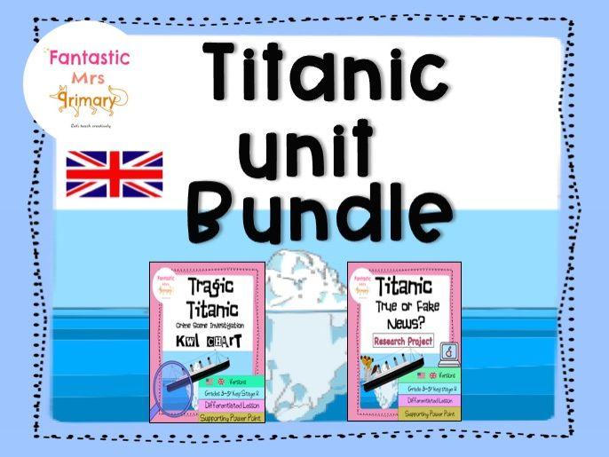 Titanic Unit -research project BUNDLE