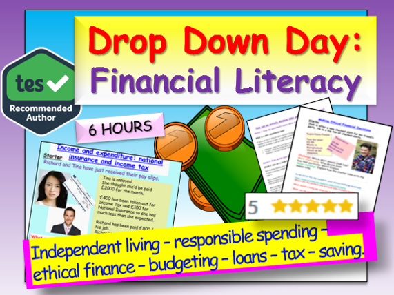 Financial Literacy Drop Down Day