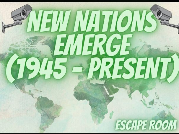 New Nations Emerge 1945 Escape Room