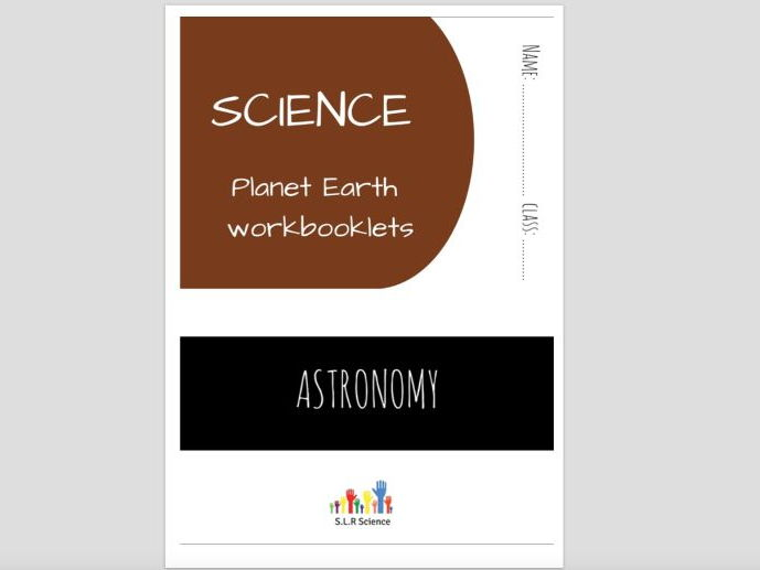 SPECIAL EDUCATION (SCIENCE) - ASTRONOMY, PLANETS, SUN, MOON, EARTH science workbooklet
