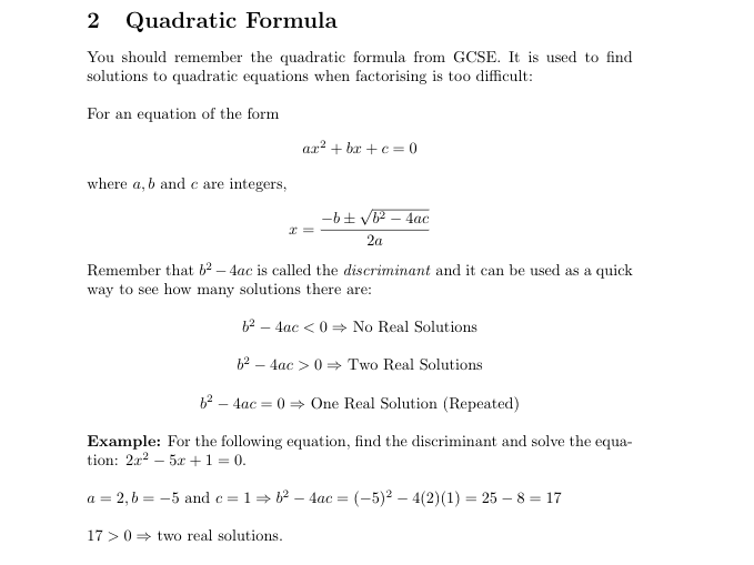 ocr formula book Not all of this is available in the booklet provided for the examinations, currently  designated mf2 and published by ocr consequently there are some results.