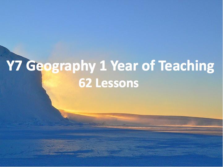 Y7 Geography 1 Year of Teaching