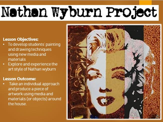 Home Learning Task- Nathan Wyburn Portraits