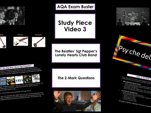 Beatles 2-Mark Question Buster - AQA GCSE Music Revision