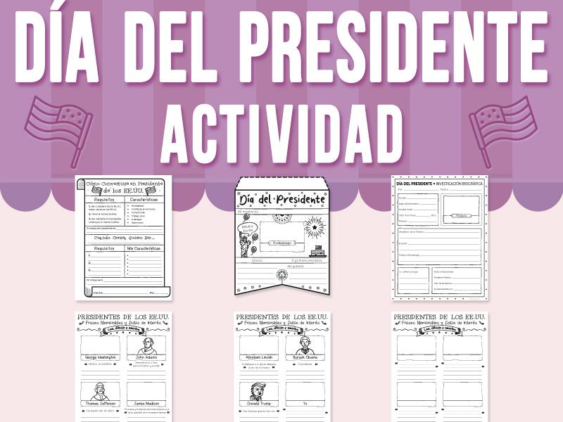 Día del Presidente - Actividad
