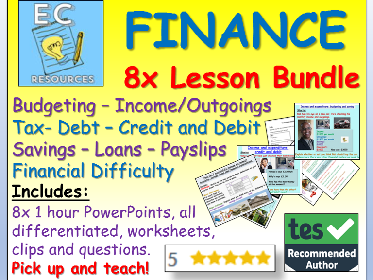 FINANCE, MONEY and FINANCIAL EDUCATION