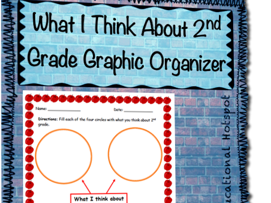 What I Think About 2nd Grade Graphic Organizer