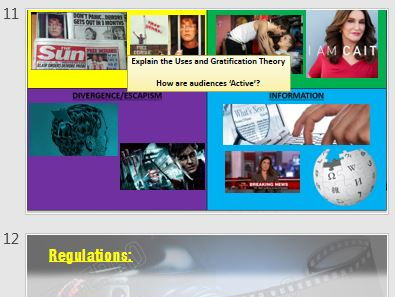 BTEC Level 2 Creative Digital Media Production Unit 1 Revision