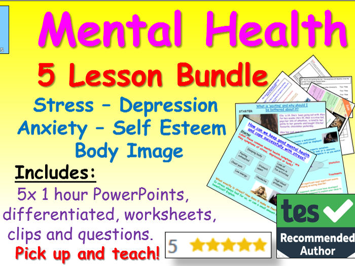 Mental Health PSHE lessons