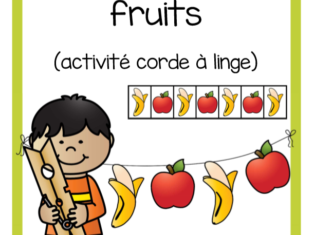 Régularités fruits (Fruit Patterns)