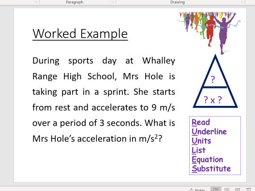 Acceleration Calculation- Differentiated Worksheets