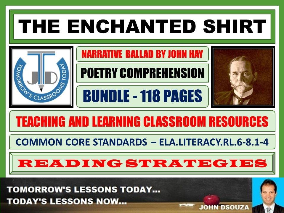 THE ENCHANTED SHIRT - CLASSROOM RESOURCES - BUNDLE