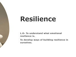 Resilience and Growth Mindset
