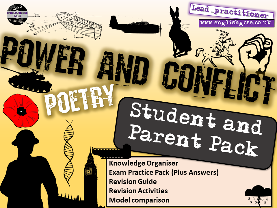 Power and Conflict English Home Learning