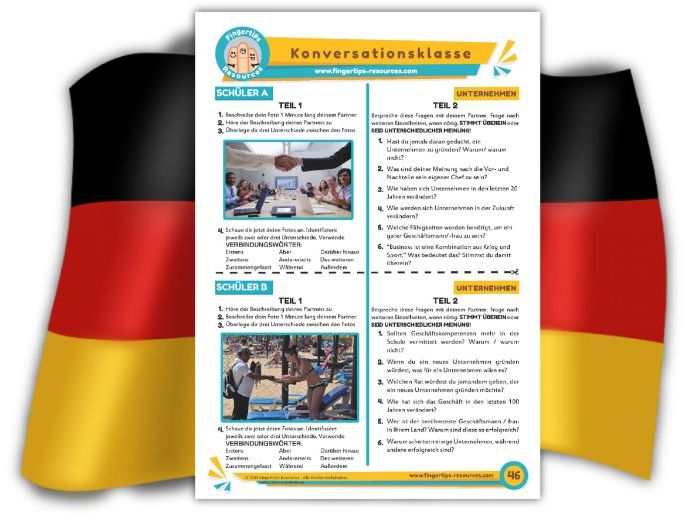 Unternehmen - German Speaking Activity