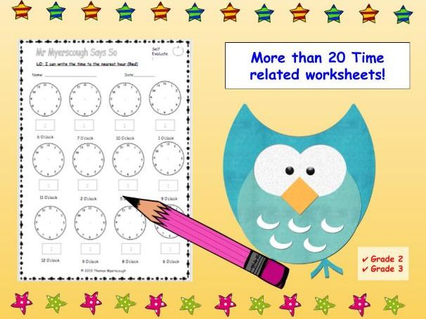 Telling the Time (Timetables, Analogue, Digital, Word Problems)