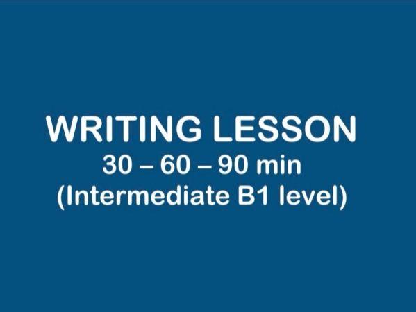 WRITING B1