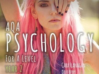Psychology AQA PSYA3 Relationships