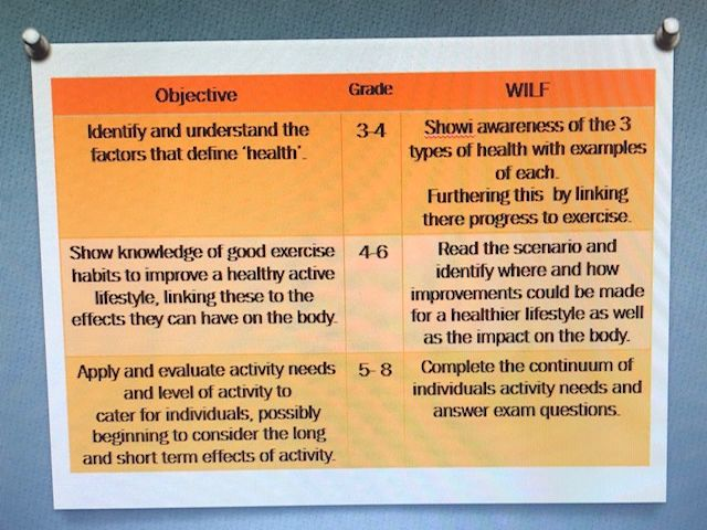 GCSE AQA PE Healthy active lifestyle