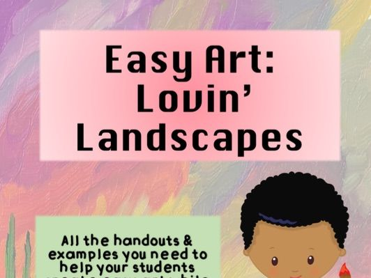 Loving Landscapes - A Painting Lesson