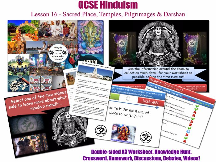 GCSE Hinduism - L16/20 [Hindu Temples, Shrines, Sites of Pilgrimage, Worship in Nature] Darshan