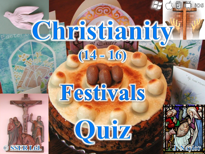Christianity - Festivals - Quiz (16 Questions)