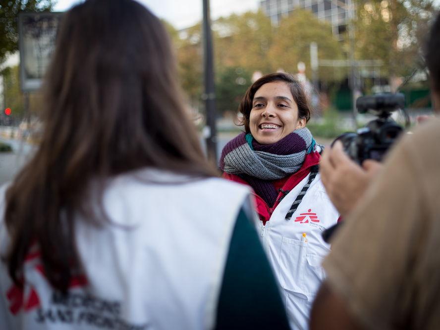 Mon Travail Bénévole - Charity Work - GCSE French Higher & Foundation - Médecins Sans Frontières MSF