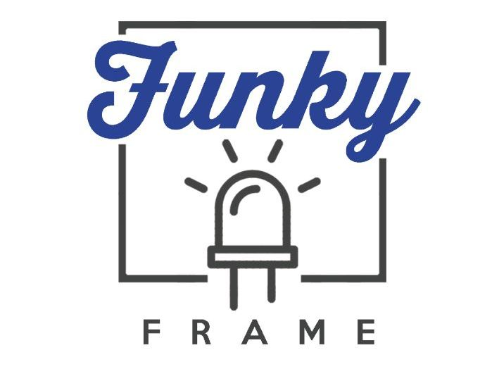Funky Frame LED Electronics Project