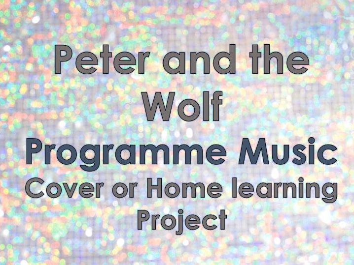 Peter & The Wolf - Homelearning/Cover