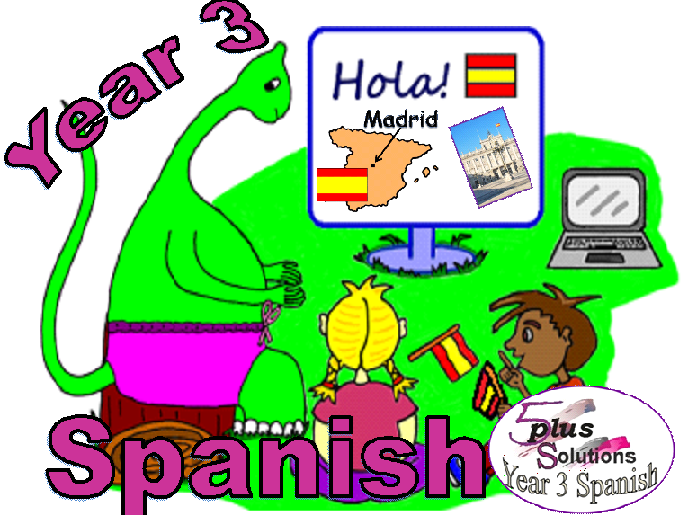 Primary Spanish COPIABLE PUPIL WORKBOOKS: Year 3 (37 worksheets)