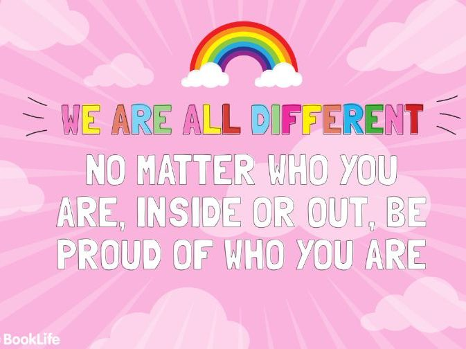 We're All Different (Anti-Bullying) Poster
