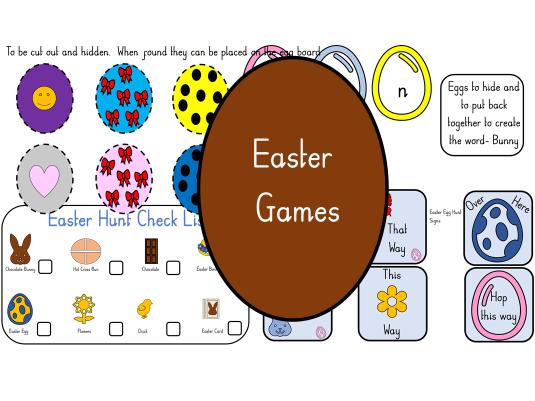 Easter Egg Hunt Resources