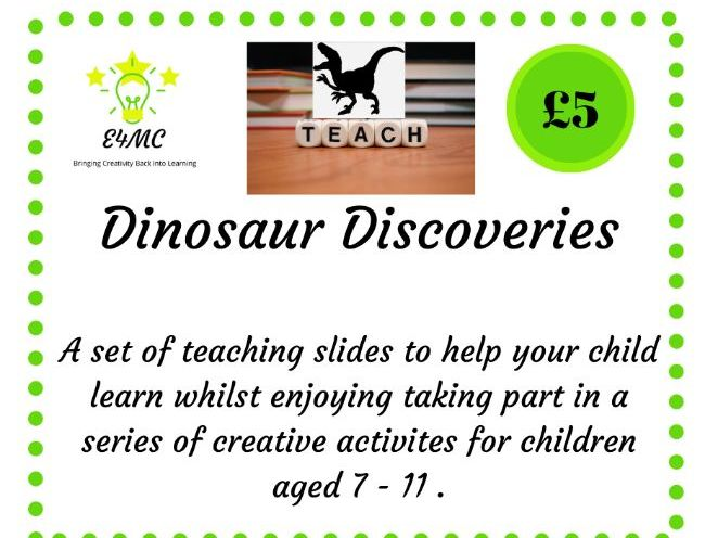 Dinosaur Discoveries - Teaching Slides