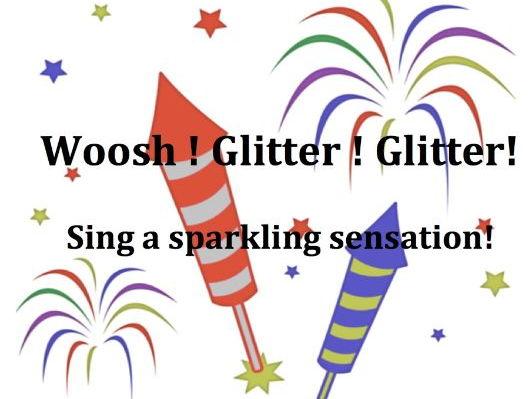 Whoosh! Glitter! Glitter!