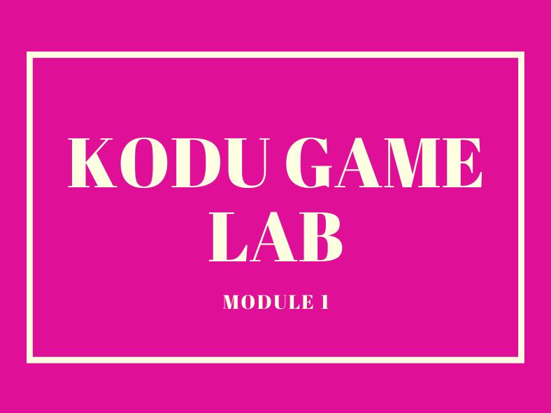 Complete Kodu Modules