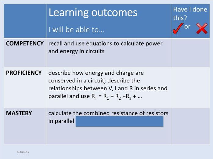 New AQA AS Physics Unit 5 Electricity - 5.1.4 Circuits