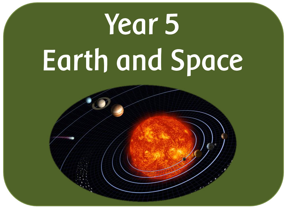 Year 5 Science Earth and Space - powerpoints, worksheets ...