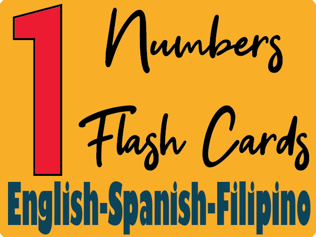 photo about Spanish English Flashcards Printable identify Figures Flash Playing cards inside Spanish and Filipino as a result of holafilipinas