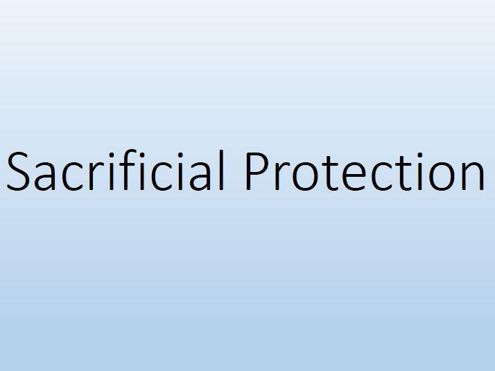 Sacrificial Protection (IGCSE/GCSE)