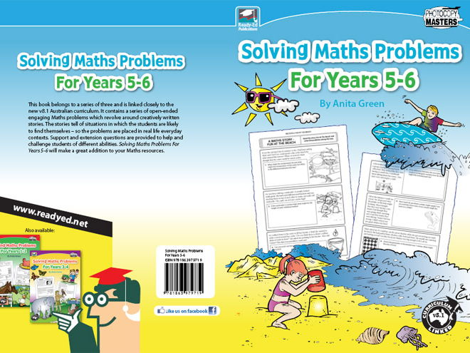 Solving Maths Problems for Years 5 - 6 (Australian E-book)