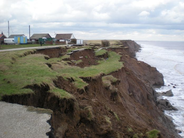 Using GIS to understand the erosion of the Holderness Coast