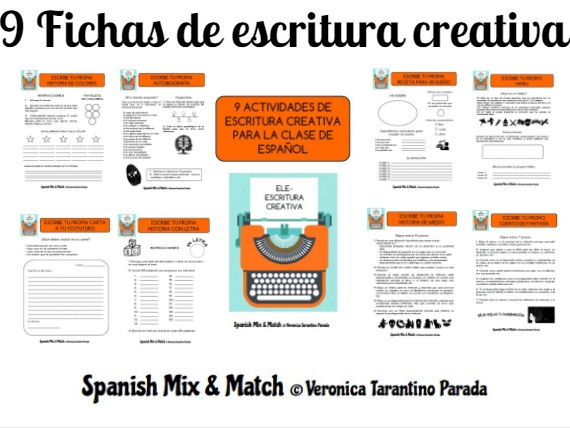 9 creative writing activities for Spanish class