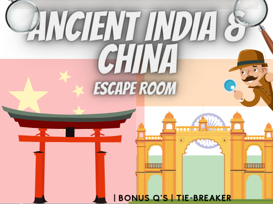 Ancient India and China Escape Room