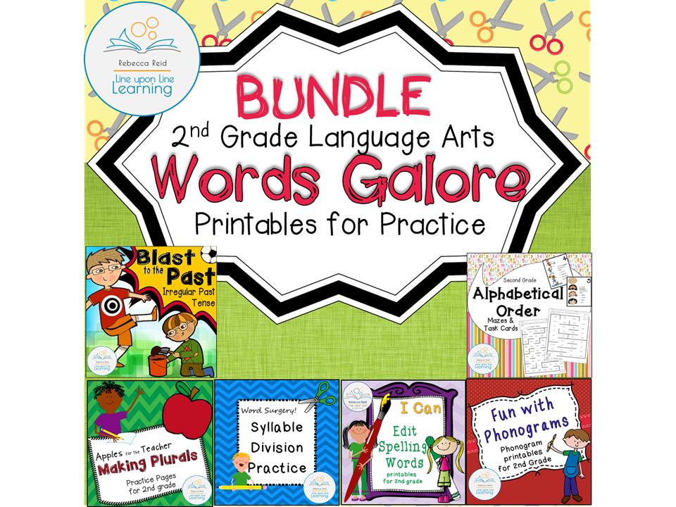 Language Arts Printables BUNDLE (2nd grade)