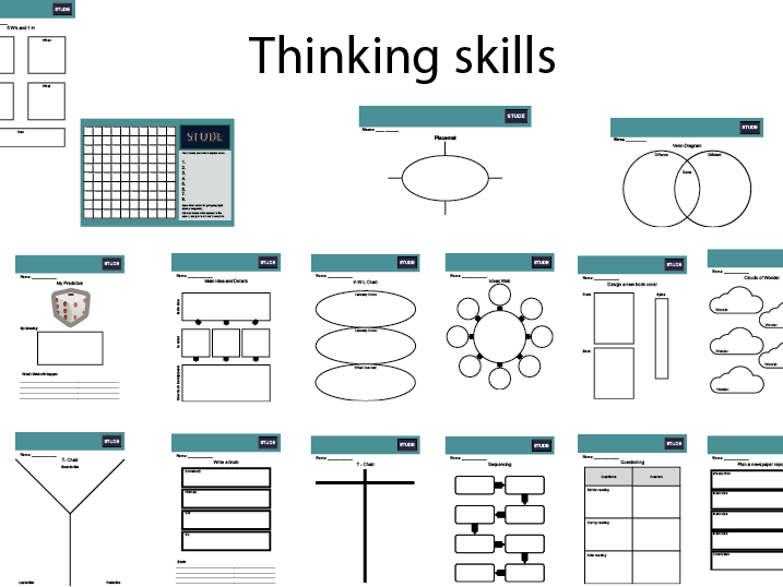 KS2 Collection of scaffolding worksheets
