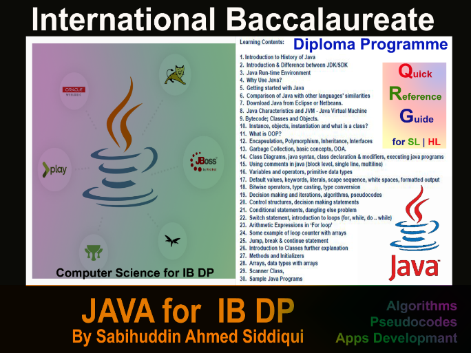 Java for IB DP SL and HL Lesson Teaser.